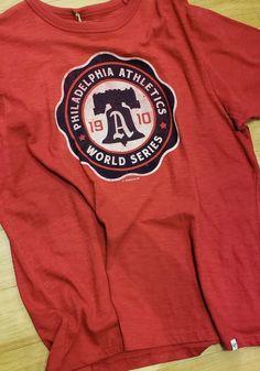 47 Philadelphia Athletics Red Scrum Short Sleeve Fashion T Shirt 2e2948ee1