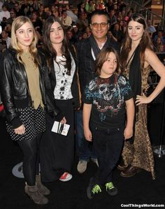 Andy Garcia and his family – Daniella, Alessandra, Andres and Dominik