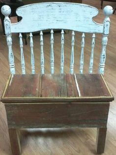 Minneapolis: Rustically Elegant Barn Wood Bench $95   Http://furnishlyst.com