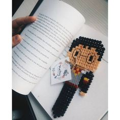 Harry Potter bookmark hama mini beads by puchyhbeads:
