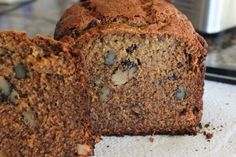 Banana Nut Bread {a bread machine recipe} - The best banana bread I've ever had!
