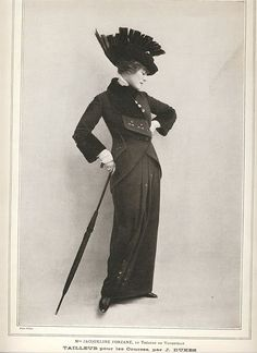 I launched myself back into tailoring women's garments last Spring with this 1914 suit. I based the design on a few photographs of women at...