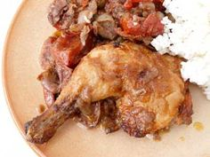 RECIPE FROM SPAIN: Chicken with Peppers and Olives