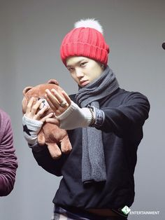 """Zelo . """"No. This teddy is mine."""""""