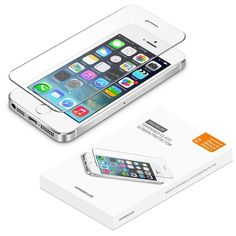 Amazon.com: iPhone 5 5S SE screen protector, UPPERCASE Premium Tempered Glass Screen Protector for iPhone 5s, iPhone 5, iPhone 5c, iPhone SE: Cell Phones & Accessories