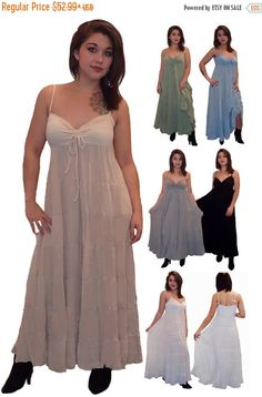 20% OFF SPECIAL SALE U330 Dess Maxi Long by LotusTradersClothing