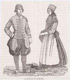 Traditional Dresses, Holland, Dutch, German, Costumes, Art, The Hague, The Nederlands, Deutsch