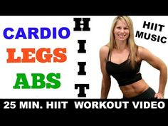 Hiit, Hiit Cardio, Hiit ABS Legs Workout - YouTube