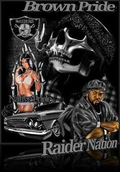 Raiders Vegas, Raiders Stuff, Raiders Girl, Oakland Raiders Fans, Raiders Football, Raiders Wallpaper, Devil Tattoo, Lowrider Art, Nfl Logo