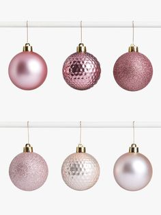 Buy John Lewis & Partners Sanctuary Assorted Shatterproof Baubles, Tub of Blush from our Baubles & Tree Decorations range at John Lewis & Partners. Christmas 2019, Christmas Themes, Tree Decorations, John Lewis, Tub, Blush, Ceiling Lights, In This Moment, Bathtubs