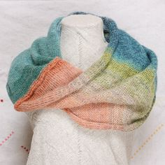 Hanalei Bay  Knit Infinity Scarf feather weight by WrapturebyInese, $60.00