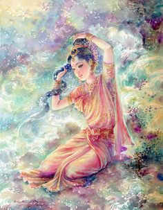 Tattoo of Ganga the goddess