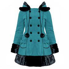 Hell Bunny Sarah Jane  Vintage Lolita Winterjacket