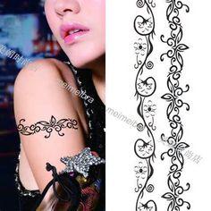 female bracelet tattoos | View More: Women Tattoos