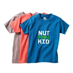 Be it an egg, dairy, wheat, or nut allergy, these colorful Allergy-Aware tees ($18) are cute on kids while being informative on their allergies.