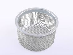 There is a bowl shaped extruder screen pack.