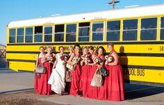El Camino Charters School Services' Wedding Charter in San Francisco #elcaminocharter #charters #bus