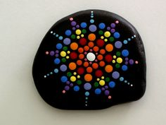 Mandala stones yoga meditation accessory Zen por RockArtiste