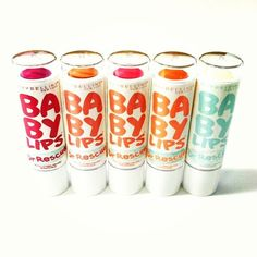 Just in time for Fall -- Baby Lips Dr. Rescue. #babylips