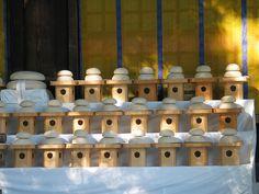 Round mochi cakes in Japan. Meiji-Jingu 明治神宮の正月