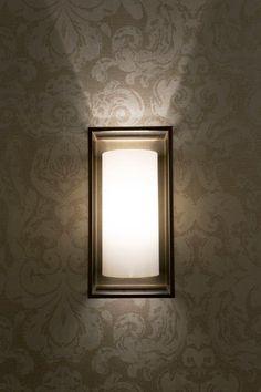 Box Wall Light at The Atholl hotel Aberdeen