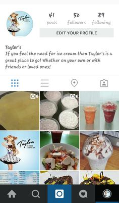 Follow us on intragram for latest updates on our lush treats!