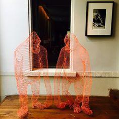 Ghostly apes #interior #sculpture #art #design #surrrealism