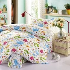 Childrenu0027s Bedding Sets, Kids Bed Linen, Comforters Bed, Fish Print,  Tropical Fish, Bed Sets, Kid Beds, Bed Linens, Dolphins, Bedding, Bed Sheets,  Seal, ...