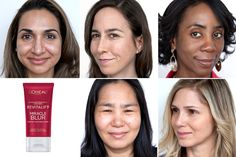 Watch how LOréal Paris Revitalift Miracle Blur erases fine lines and imperfections to give these top beauty industry players smooth and flawless complexions.