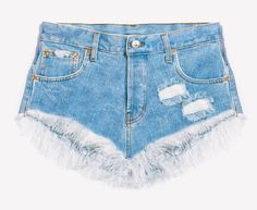 Lovers Stone Babe Distressed Cut Off Shorts