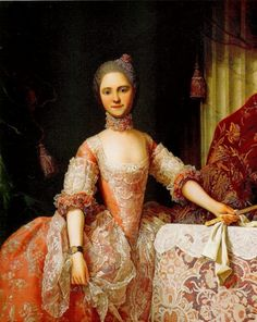 Maria Luisa of Parma by Laurent Pécheux (location unknown to gogm) | Grand Ladies | gogm