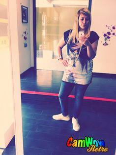 T-Shirt Madonna Jeans Danubio #OnlyMANGANO #WayOut Travagliato