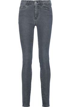 M.I.H JEANS Mid-Rise Skinny Jeans. #m.i.hjeans #cloth #jeans