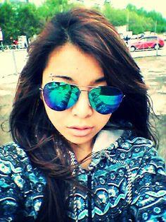 Азаза)) наконец купила рейбеновские очки :3