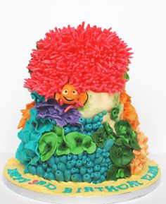 Finding Nemo cake ~ love!