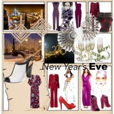 New Year's Party Style- Jumpsuits