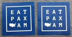 Sticker Design for Pax Americana, Houston, TX
