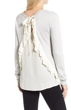 Chelsea28 Chelsea28 Ruffle Back Sweater available at #Nordstrom