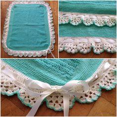 Manta para bebe crochet