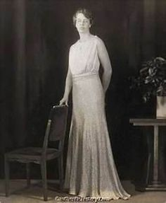 inagurale ball gown of Eleanor Roosevelt, 1933