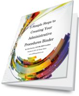 Administrative Procedures eBook | All Things Admin