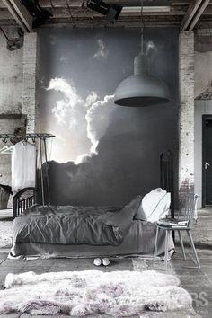 ♅ Dove Gray Home Decor ♅ grey warehouse chic