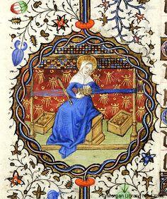 Medieval Tablet Weaving- later period but still informative Inkle Weaving, Card Weaving, Medieval Crafts, Medieval Art, Illuminated Letters, Illuminated Manuscript, Tablet Weaving Patterns, Illustrations Vintage, Lucet