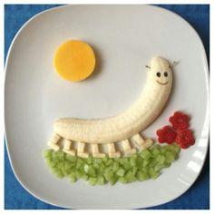 Creatief met fruit.