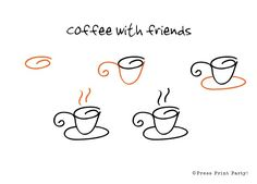 Bullet-journal-doodles-instructions-coffee.jpg (600×432)