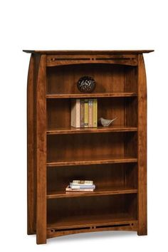 Amish Boulder Creek Mission Bookcase The Boulder Creek is a dream bookcase for den, library or office. Solid wood, custom options and American made. Choice of wood and stain. #bookcases 4 Shelf Bookcase, Bookcase With Glass Doors, Bookcases, Barrister Bookcase, Door Shelves, Storage Shelves, Amish Furniture, Antique Furniture, Wood Furniture