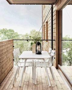 Balkon, ohne schnick schnack #bywstudent