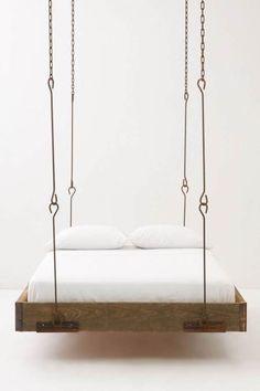 Anthropologie – Barnwood Hanging Bed