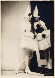 Pierrot, by Charles Gates Sheldon  c.1920s