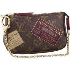 Louis Vuitton Monogram Canvas Mini Pochette Accessoires Stamp